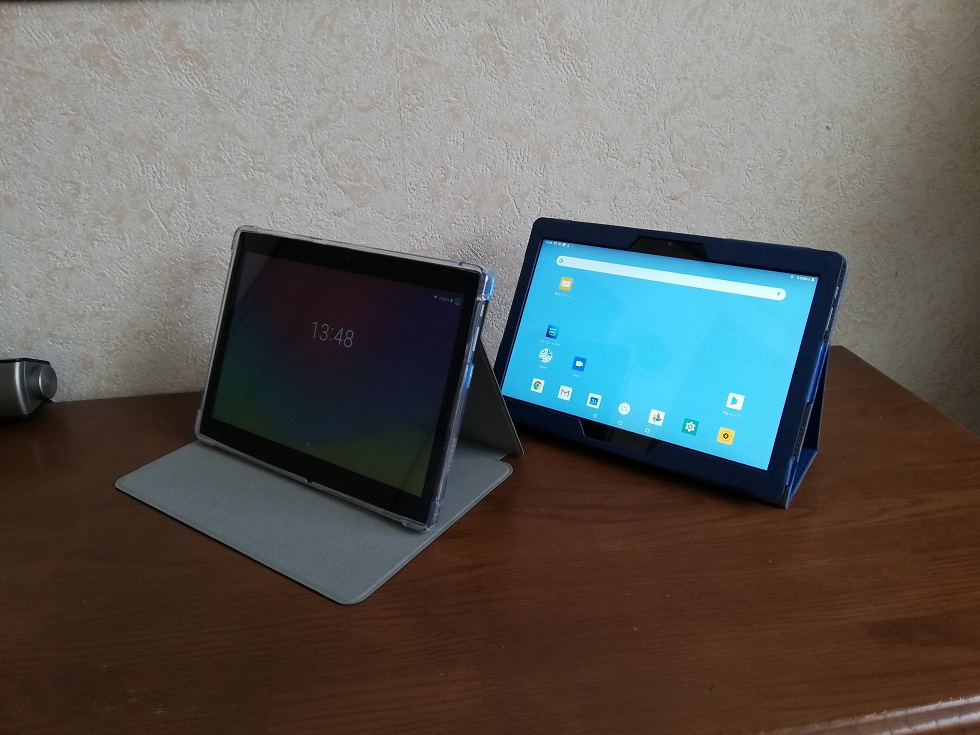 2台のALLDOCUBE IPlay10 Pro